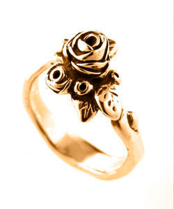 Flowering Hobart Rose Ring (18ct Rose Gold)