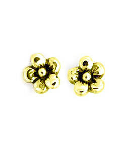 Forget-me-not Earrings (18ct Gold)