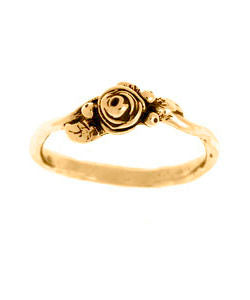 Fresh Bud Hobart Rose Ring (18ct Rose Gold)