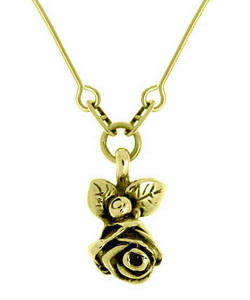 Full Bloom Hobart Rose Pendant (18ct Gold)