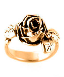 Full Bloom Hobart Rose Ring (18ct Rose Gold)
