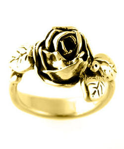 Full Bloom Hobart Rose Ring (18ct Gold)