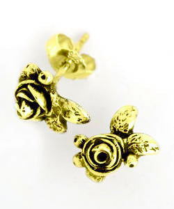 Hobart Rose Earrings (18ct Gold)