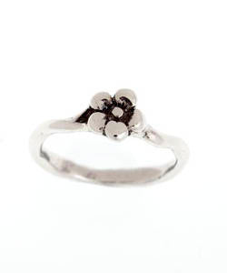 Single Flower Forget-me-not Ring (Silver)