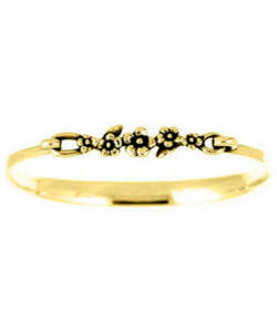 Slim Forget-me-not Bracelet (18ct Gold)