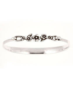 Slim Forget-me-not Bracelet (Silver)