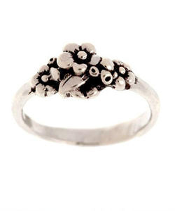 Small Cluster Forget-me-not Ring (Silver)