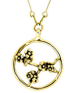 Spring Blossom Pendant (18ct Gold)