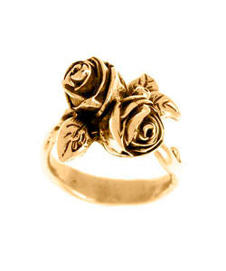 Twin Hobart Rose Ring (18ct Rose Gold)