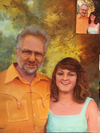 Portrait - Commission from photograph (Father and Daughter)