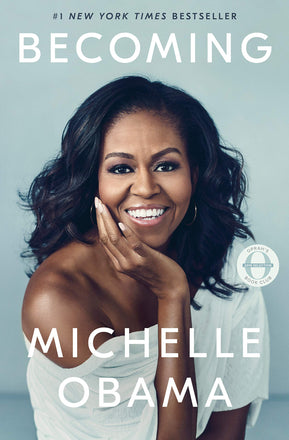 Cover of Michelle Obama's book, Becoming