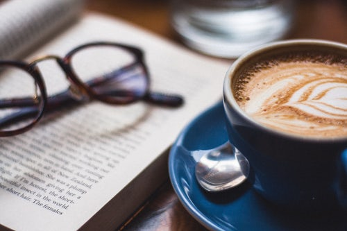 A cup of coffee and a memoir