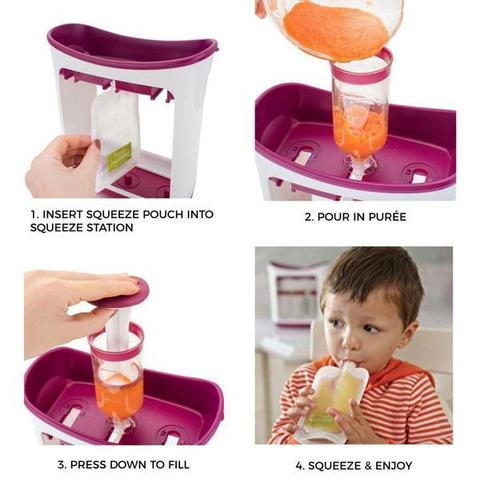 best baby food processor, baby food machine, baby food maker pouches