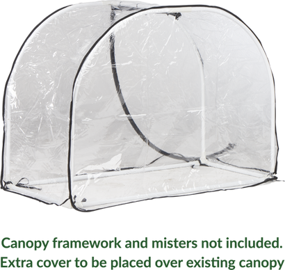 Small Greenhouse PVC Cover (Cover only)