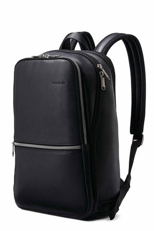 Samsonite Sam Classic leather Slim Backpack- Black