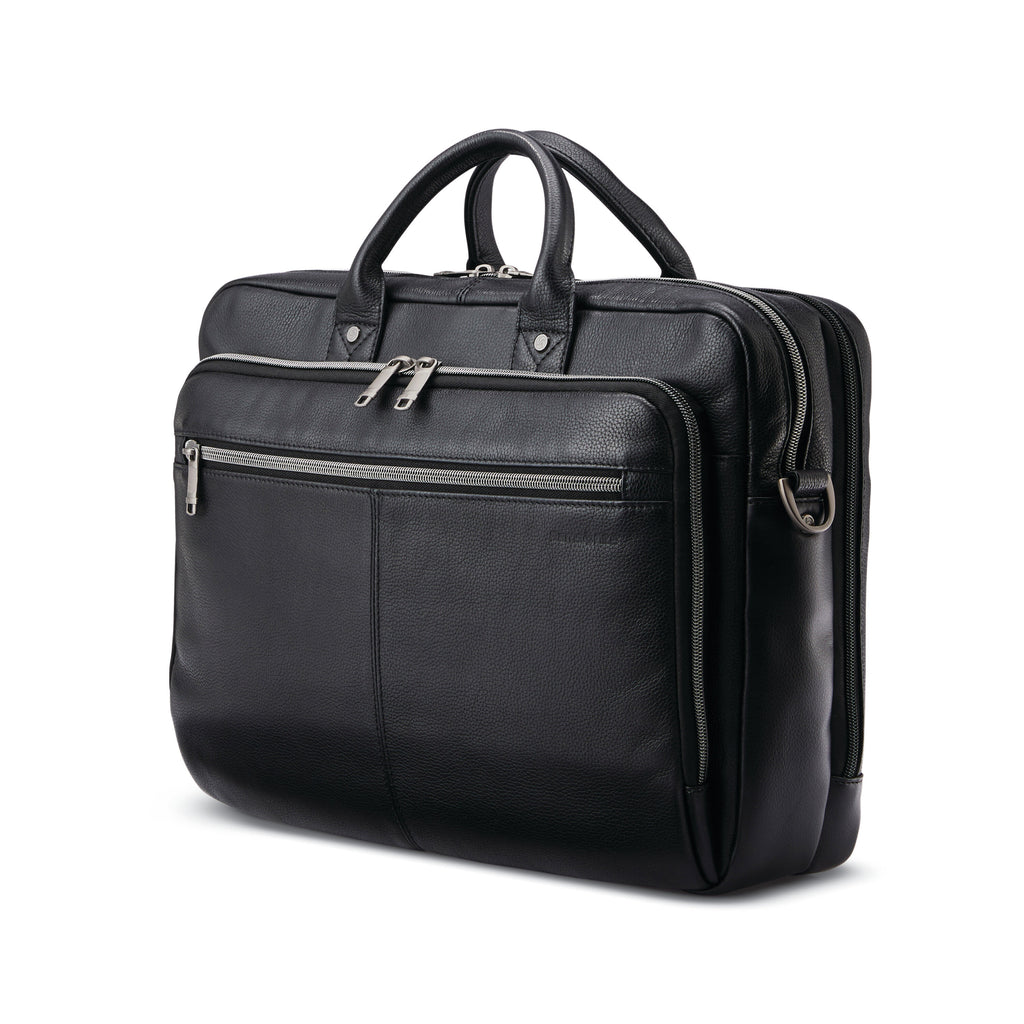 SAMSONITE SAM CLASSIC LEATHER TOP LOADER BUSINESS BAG/BRIEFCASE