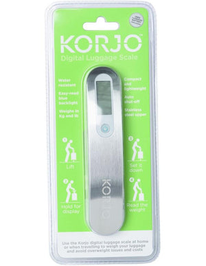 Korjo Digital Luggage Scale Travel Accessories