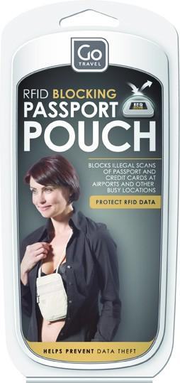 Go Rfid Blocking Passport Pouch Travel Accessories