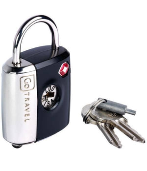 Go Tsa Dual Function Lock 337 Black Travel Accessories