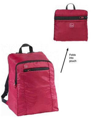 Go Xtra Light And Durable Backpack Small / Burgundy Travel Accessories