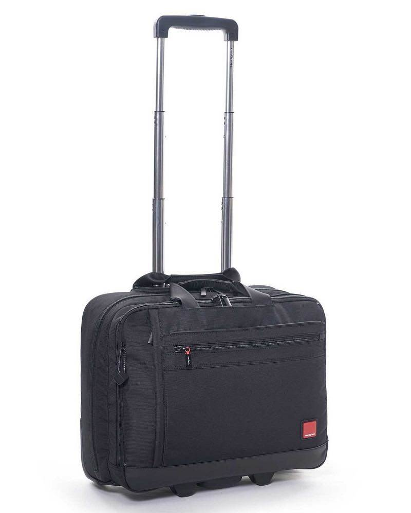 "Hedgren Rotor Mobile Office Trolley 15.6"" 2 Wheeled  Black"