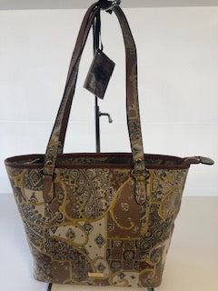 Scala  Tuscany Alice Tote Bag- Tan SCL010TANT