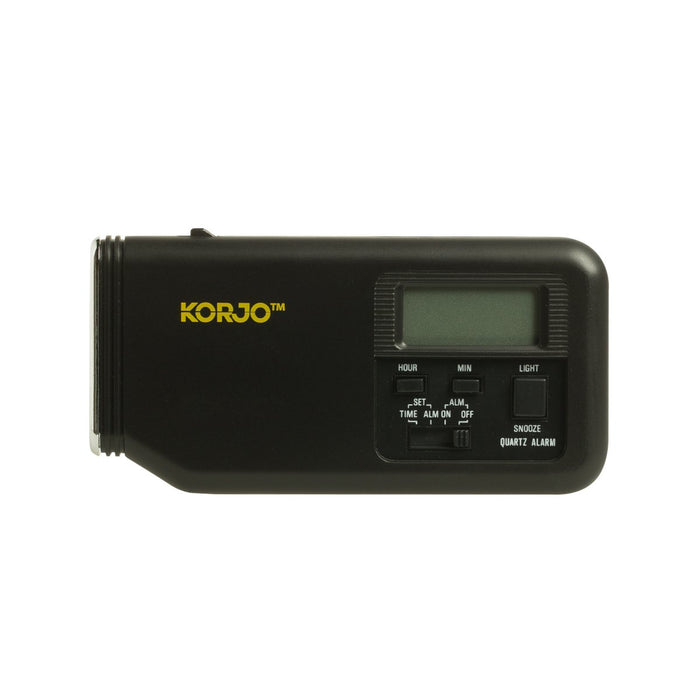 Korjo Alarm Clock with Torch