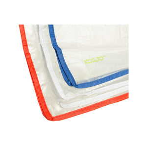 Korjo Zippered Plastic Bags Travel Accessories