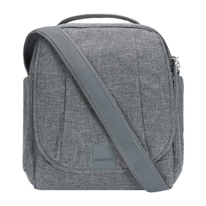 Pacsafe Metrosafe Ls 100 Cross Body Bag Dark Tweed Secure Shoulder Bag