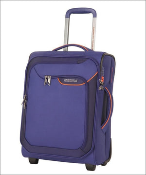 American Tourister Applite 4.0 Security 50Cm Carry On Two Wheeled Suitcase 50Cm / Blue Carryon