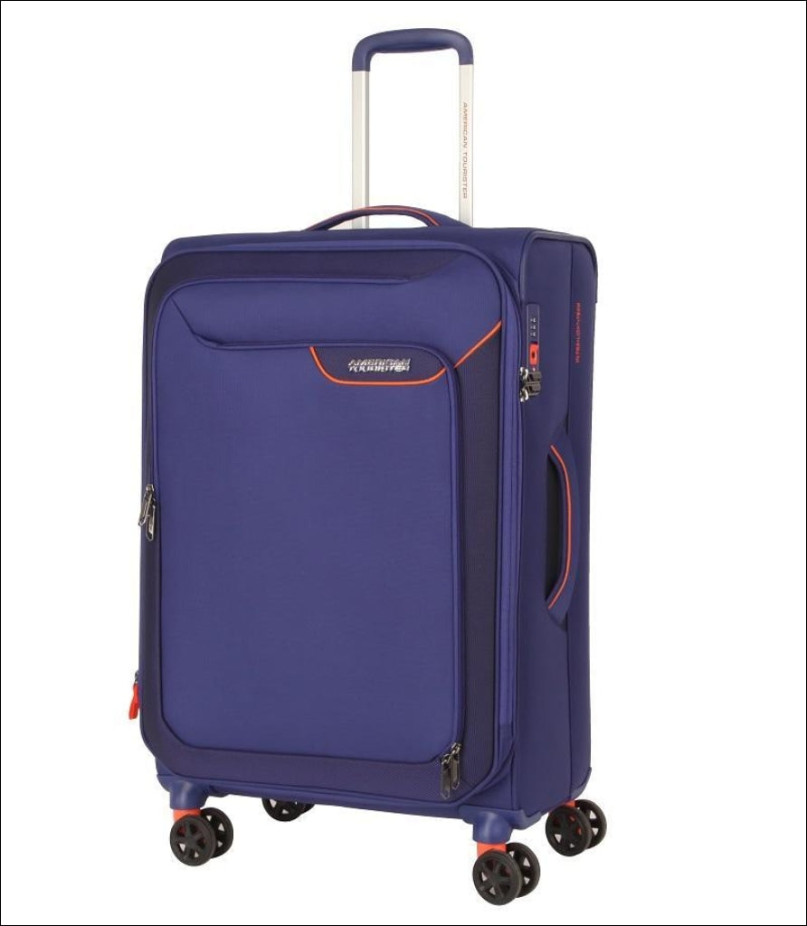 American Tourister Applite 4.0 Security 71Cm Suitcase 71Cm / Blue Medium Luggage