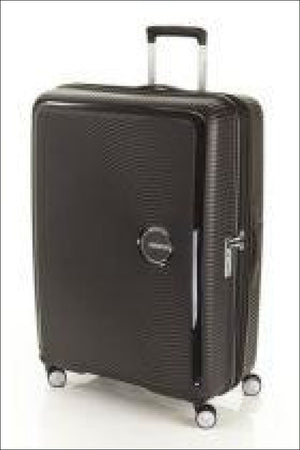 American Tourister Curio 80Cm Black Large Hard Shell Case