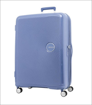 American Tourister Curio 80Cm Denim Blue Large Hard Shell Case