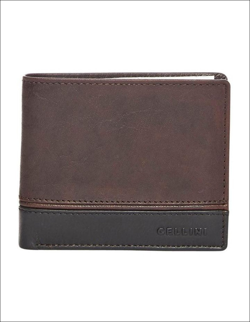 Cellini Aston Double Wallet Leather