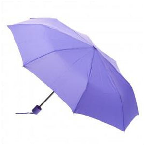 Clifton Micro Mini Folding Umbrella Purple Travel