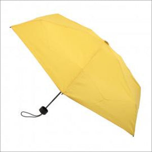 Clifton Micro Mini Folding Umbrella Yellow Travel