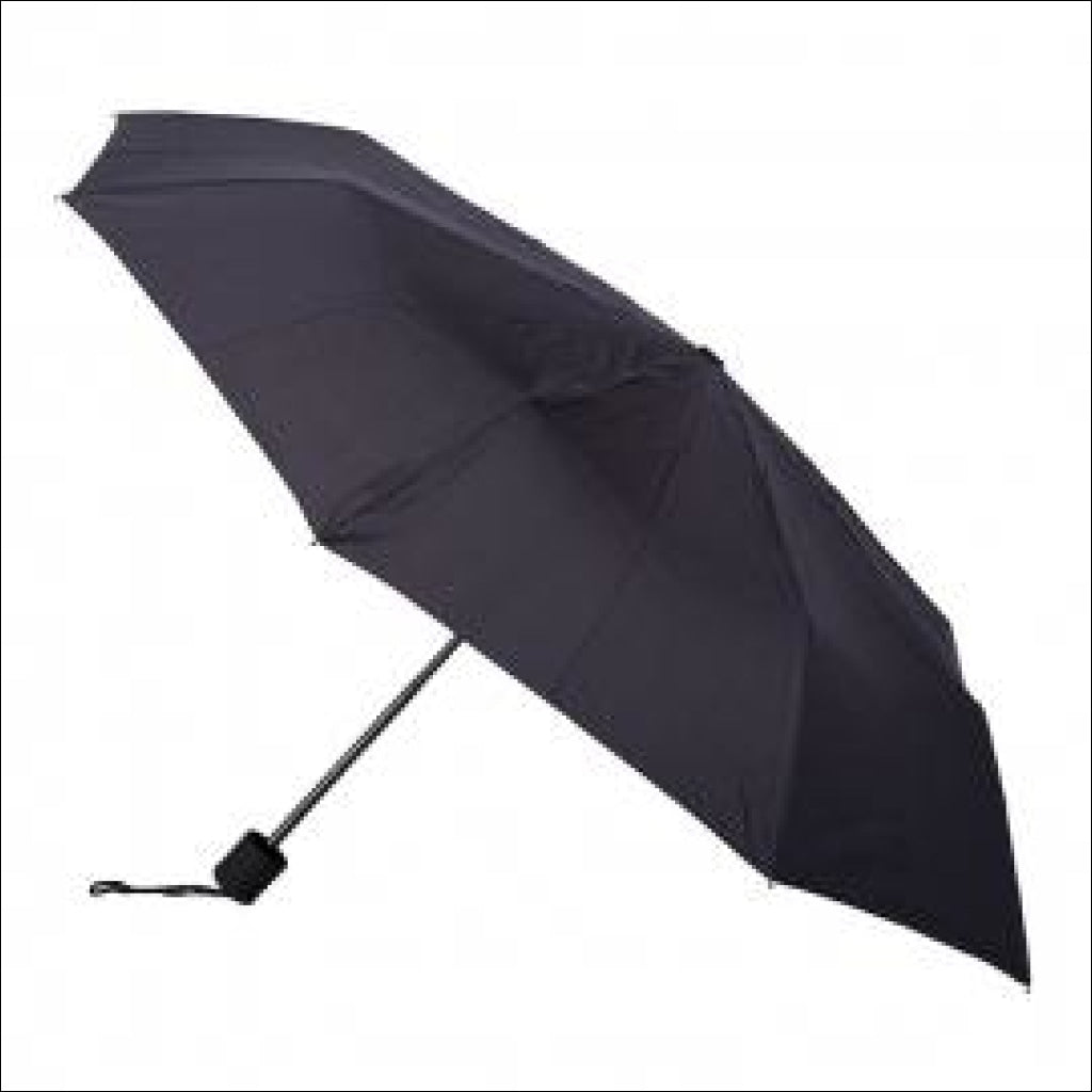 Clifton Skinny Mini Mate Folding Umbrella Black Folding Umbrella