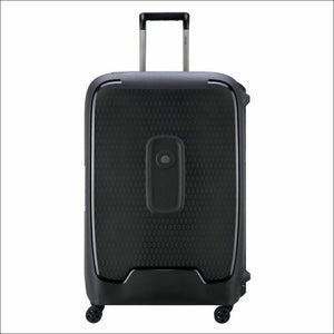 Delsey Moncey 69Cm Large Hard Sided Luggage-Anthracite Small/medium Shell Case No Zips