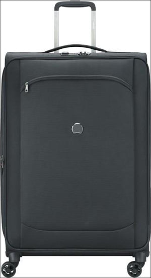 Delsey Montmartre Air 2.0 Softside Large 77 Cm Spinner Suitcase 77Cm / True Black Large Soft Luggage