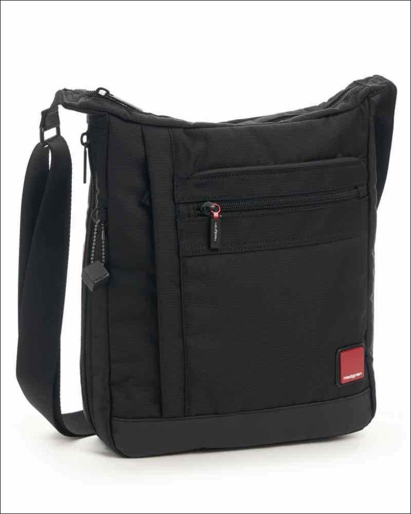 Hedgren Airing Mens Vertical Expandable Crossover Bag With Tablet Pocket