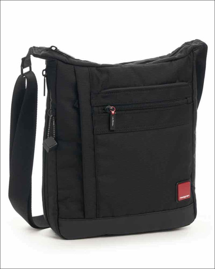 Hedgren Airing Men's Vertical Expandable Crossover Bag with Tablet Pocket
