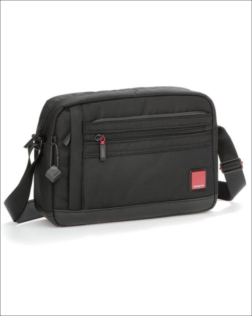 Hedgren Engine Mens Horizontal Shoulder Bag With Tablet Pocket