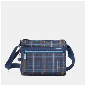Hedgren Eye Small Shoulder Bag Tartan Print Lightweight Travel