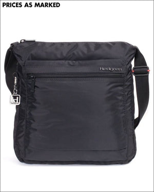Hedgren Fanzine Large Shoulder Bag Rfid Black Lightweight Travel