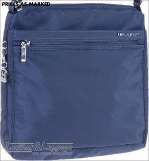 Hedgren Fanzine Large Shoulder Bag Rfid Dress Blue Lightweight Travel