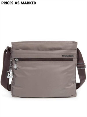 Hedgren Fola Slim Shoulder Bag Rfid Sepia Lightweight Travel