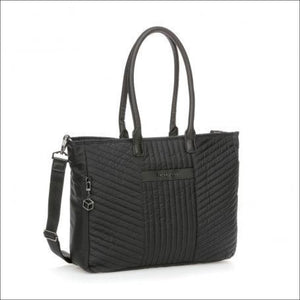 Hedgren Quartz Diamond Touch Ladies Tote/business Bag Tote