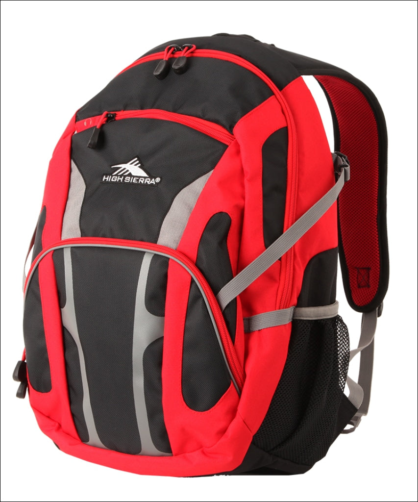 High Sierra Composite Backpack Red-Black