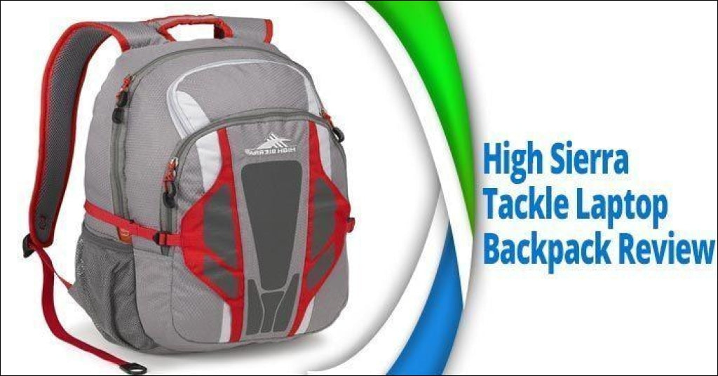 High Sierra Tackle Backpack