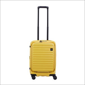 Lojel Cubo 54Cm Carryon Spinner / Mustard Yellow Luggage